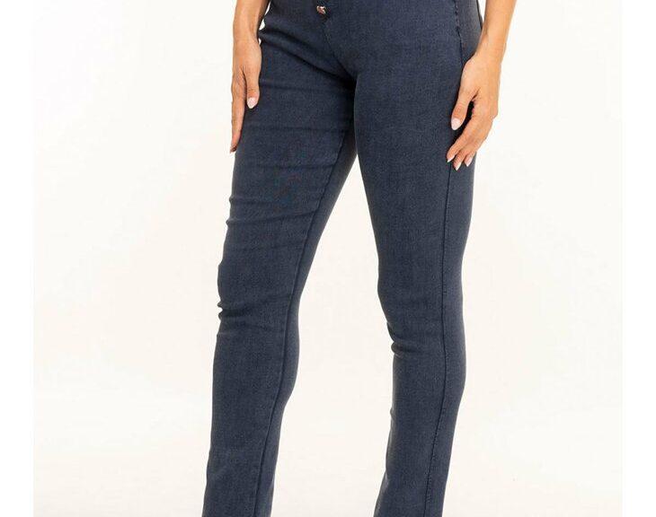 casualowe spodnie damskie z wysokim stanem